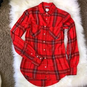 A New Day Flannel shirt Size XS